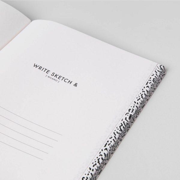 Write Sketch & TACCUINO FORMATO A5 SUPER SQUARED