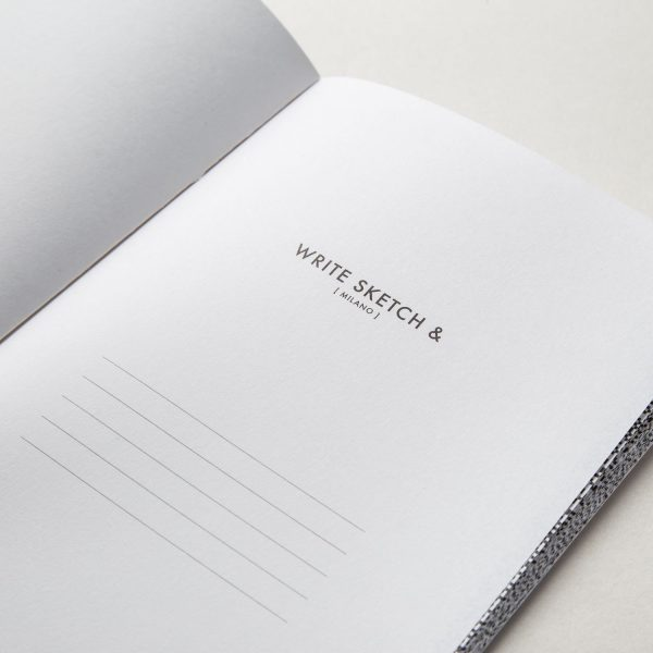 Write Sketch & TACCUINO FORMATO A5 SUPER NET