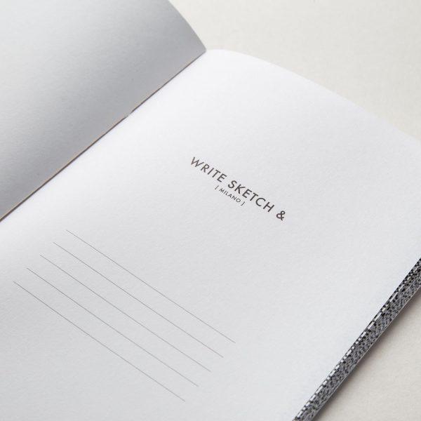 Write Sketch & TACCUINO FORMATO A5 SUPER PIXELONE