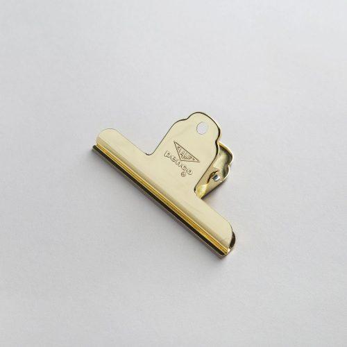 Accessori da Scrivania Hightide Penco PINZA FERMACARTE ORO HIGHTIDE PENCO GRANDE DP144-GD
