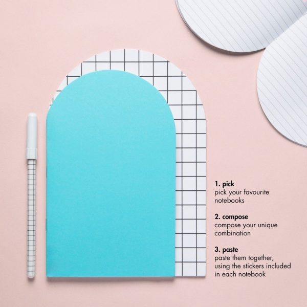 Write Sketch & TACCUINO ARCO GRID LARGE