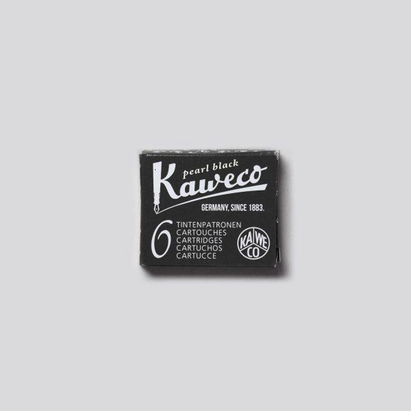CARTUCCE PER PENNE STILOGRAFICHE KAWECO - PEARL BLACK
