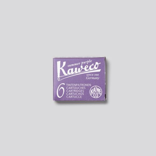 CARTUCCE PER PENNE STILOGRAFICHE KAWECO - SUMMER PURPLE