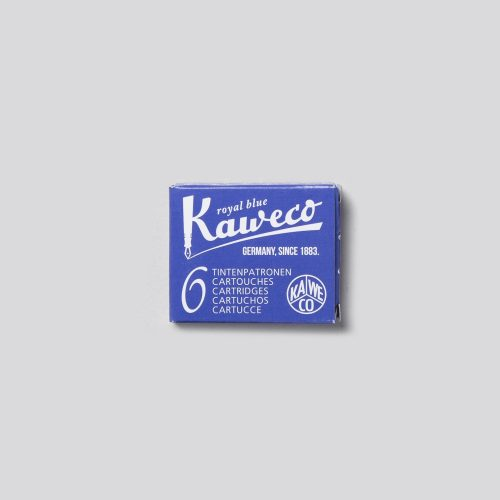 CARTUCCE PER PENNE STILOGRAFICHE KAWECO - ROYAL BLUE