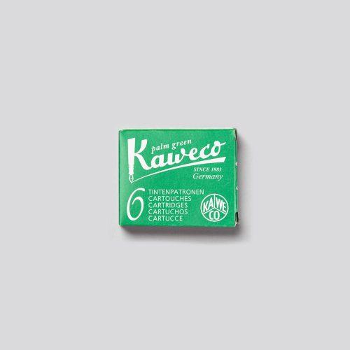 CARTUCCE PER PENNE STILOGRAFICHE KAWECO - PALM GREEN