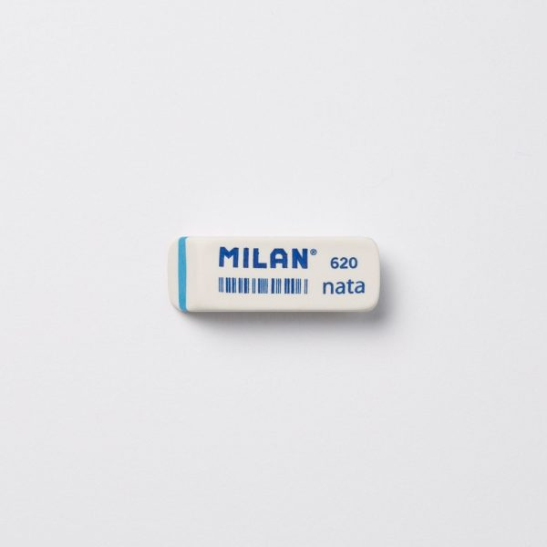 Accessori da Scrivania Milan GOMMA MILAN NATA 620 - BIANCA E BLU GMMMILAN620-BL
