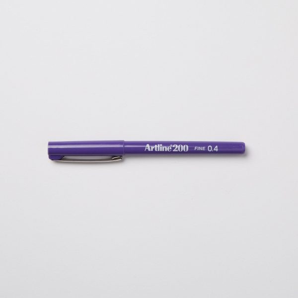 ARTLINE 200 FINELINER 0,4mm - VIOLA