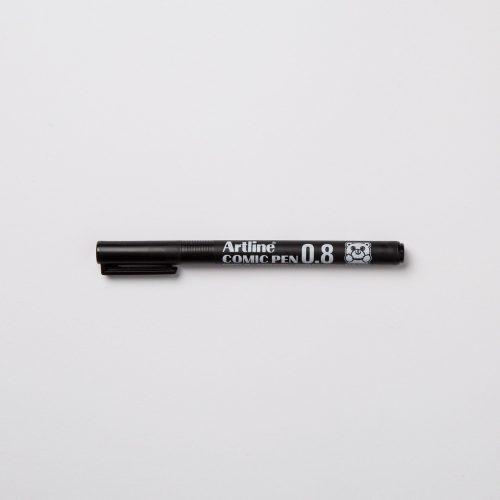 ARTLINE COMIC PEN 0,8mm - NERO