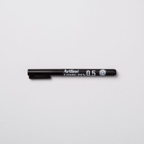 ARTLINE COMIC PEN 0,5mm - NERO