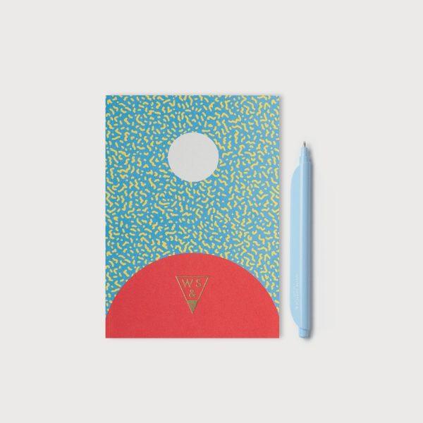set quaderno penna SUPER JOY + CLIPEN SODA BLUE COMBO-JOY