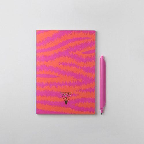 Super Zebra + Clipen Flamingo Pink