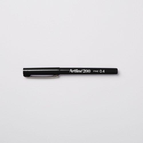 ARTLINE 200 FINELINER 0,4mm - BLACK NOIR