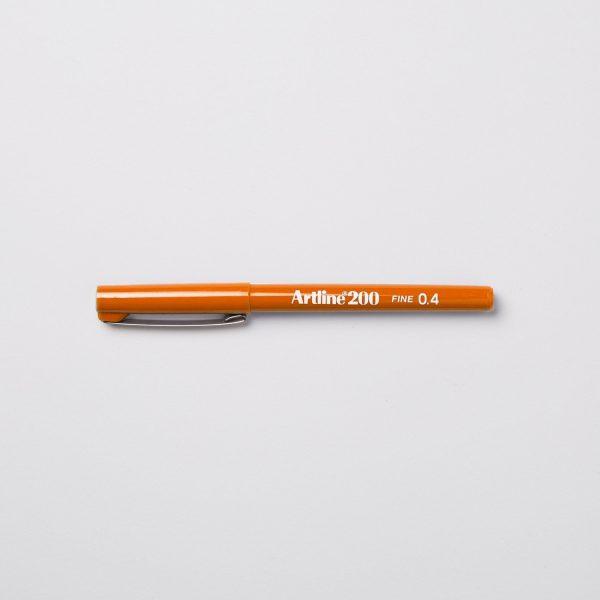 ARTLINE 200 FINELINER 0,4mm - ORANGE