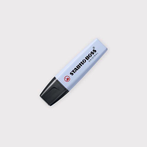 Evidenziatore Stabilo Boss Original Pastel - Azzurro Nuvola chiuso