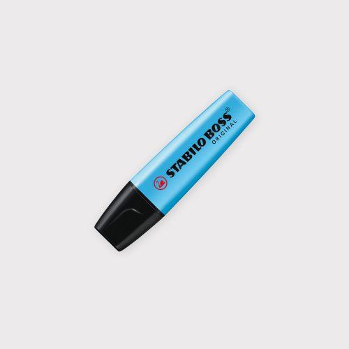 Evidenziatore Stabilo Boss Original - Blu chiuso