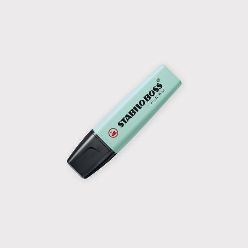 Evidenziatore Stabilo Boss Original Pastel - Carta Da Zucchero chiuso