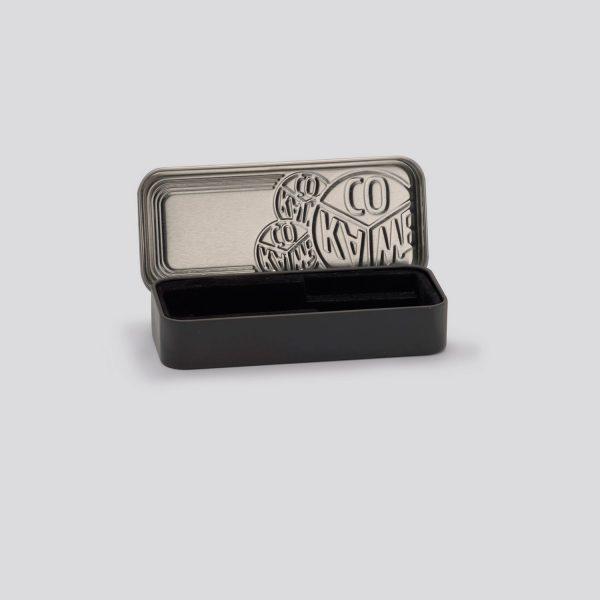 Scatola di metallo nera per penne e matite Kaweco Sport - piccola