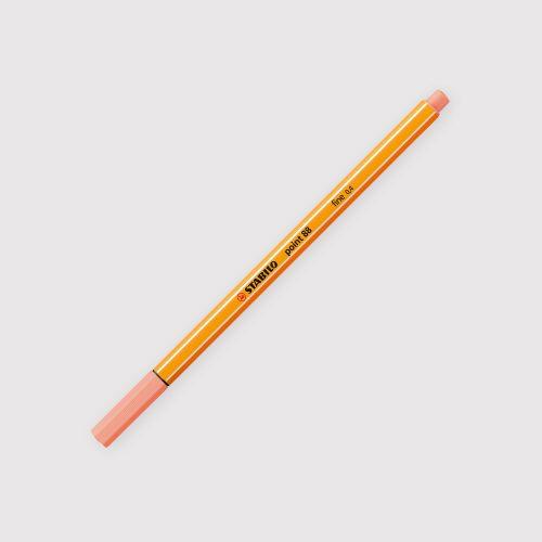 Penne Stabilo Point 88 - Astuccio da 8 Colori Pastello chiuso