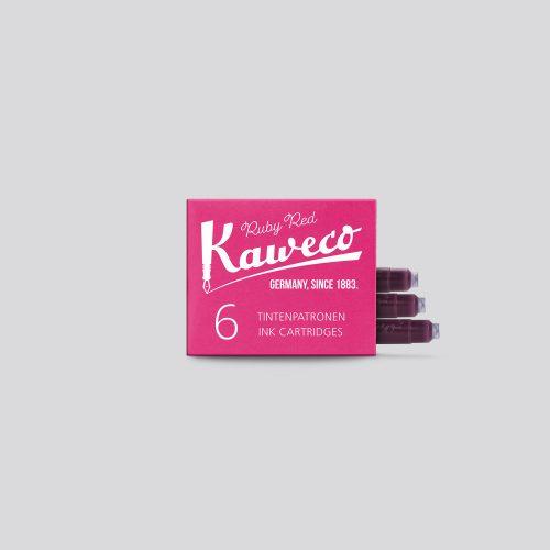 Cartucce per penne Stilografiche Kaweco - Ruby Red